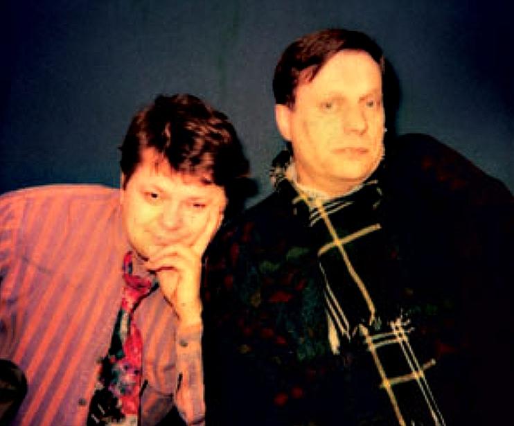 Leszek Bubel i Stefan Friedman