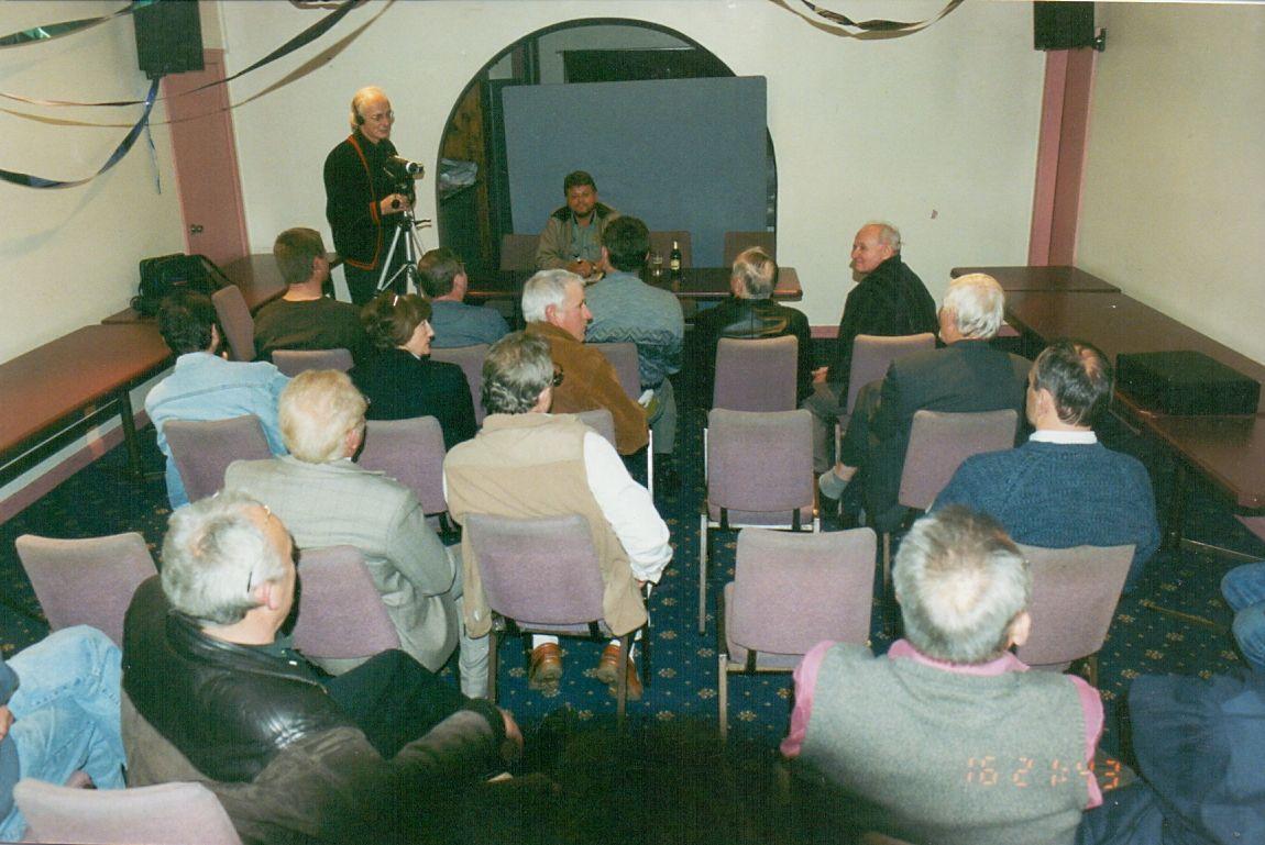 Leszek Bubel na spotkaniu z czytelnikami miesięcznika Tylko Polska