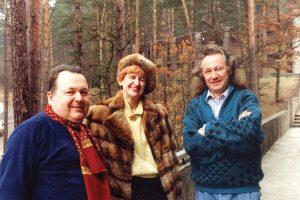 Redaktor Sasin (z małżonką) z olsztyńskiej Ławy oraz Janusz Laskowski