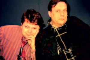 Leszek Bubel ze Stefanem Friedmanem
